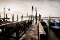 les gondoles devant San Giorgio